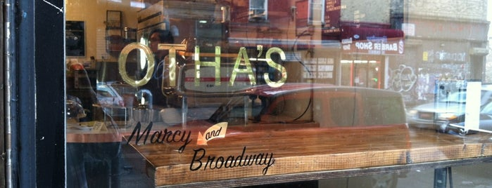 Otha's is one of Best in NYC coffee.
