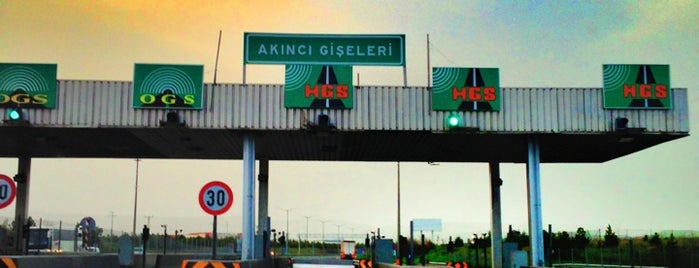 Akıncı Gişeleri is one of ANKARA :)).