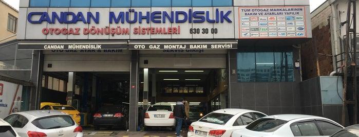 Candan Mühendislik  LPG Sistemleri is one of Tuğrulさんの保存済みスポット.