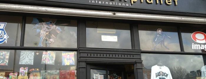 Forbidden Planet is one of Dublin.