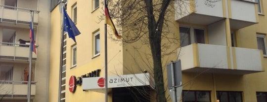 AZIMUT Hotel Nuremberg is one of Nürnberg, Deutschland (Nuremberg, Germany).