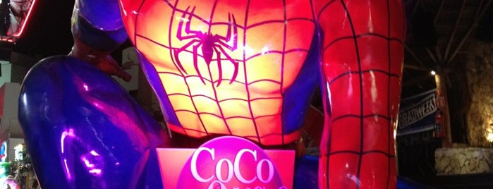 Coco Bongo is one of Mexico.