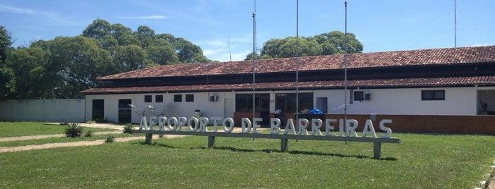 Aeroporto de Barreiras (BRA) is one of Aeroportos do Brasil.