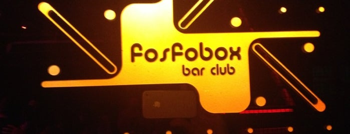 Fosfobox Bar Club is one of Rio's night.