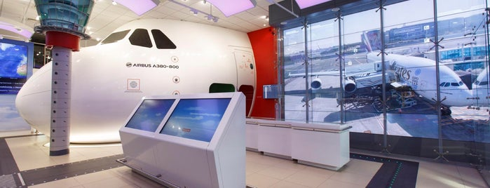 Emirates Aviation Experience is one of Greenwich and Docklands; London.