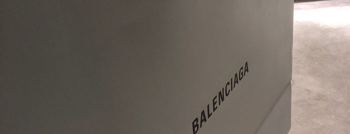 Balenciaga is one of to do in London.