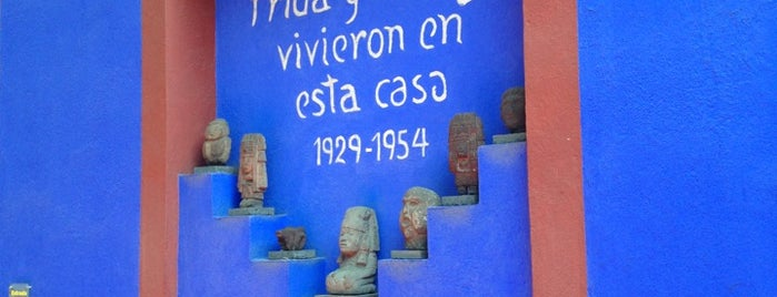 Museo Frida Kahlo is one of CDMX.