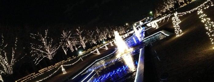 国営昭和記念公園 is one of 日本夜景遺産.