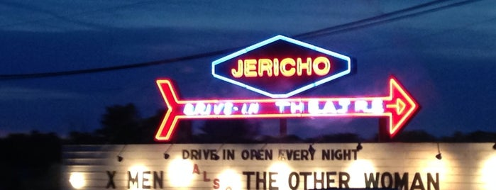 Jericho Drive-In Theatre is one of TAKE ME TO THE DRIVE-IN, BABY.