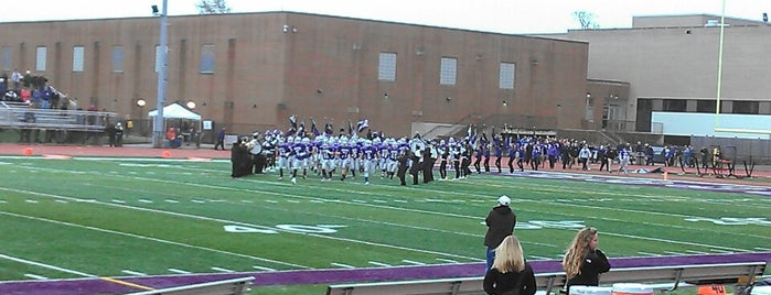 Downers Grove North High School is one of High Schools I Referee.