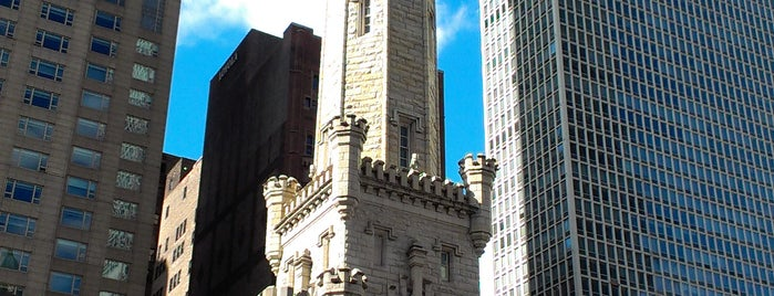 Chicago Water Tower is one of Chicago.