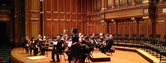 """New England Conservatory Williams Hall is one of The """"To Do List""""."""