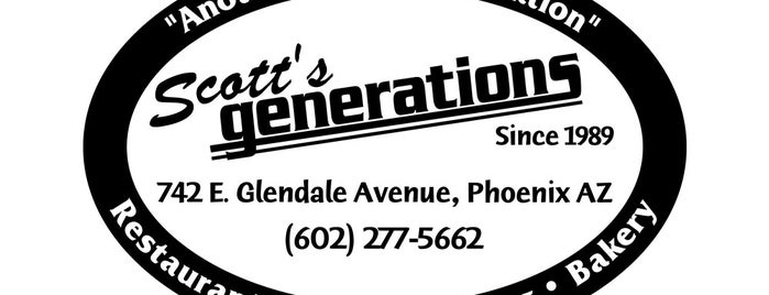 Scott's Generations is one of PHX Bfast/Brunch in The Valley.
