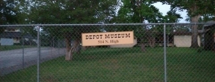 Depot Museum is one of Museums in East Texas.