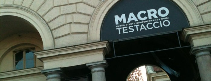 MACRO Testaccio is one of italy.