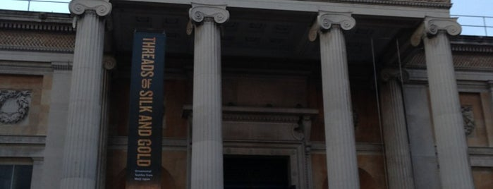 The Ashmolean Museum is one of Favorite places in the UK.
