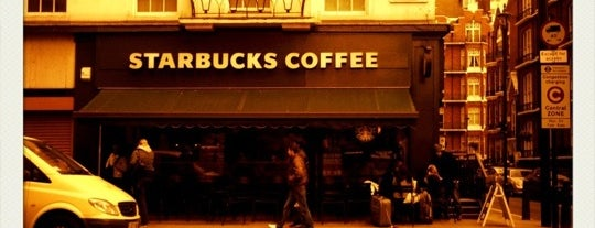 Starbucks is one of London.