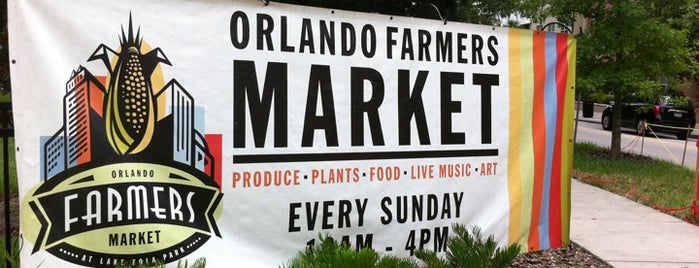 Orlando Farmer's Market is one of Orlando Area's Hidden Gems.