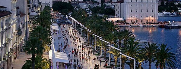 Stadtpromenade Riva is one of Croacia.