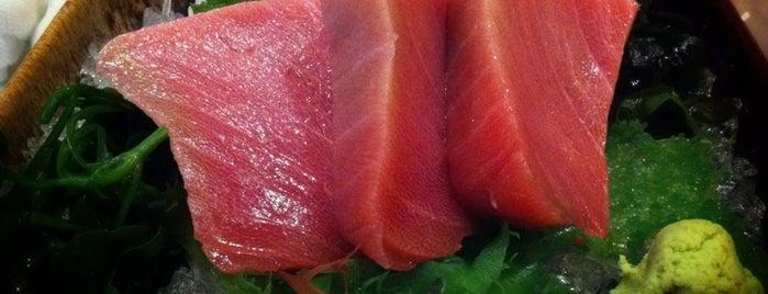 Honmono Sushi (ฮอนโมโน ซูชิ) 本物すし is one of Ichiro's reviewed restaurants.