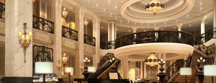 The St. Regis Moscow Nikolskaya is one of Posti che sono piaciuti a Nancy.
