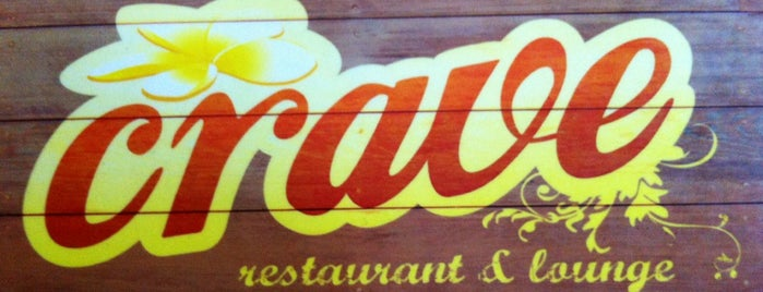 Crave restaurant and lounge is one of Koh Phangan To-Do or Great.