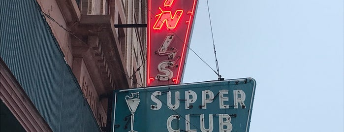 Nutini's Supper Club is one of Illinois, Indiana, Ohio, Michigan.