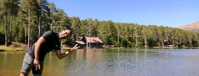 Gökçeova Gölü is one of muğla.