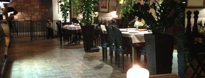 Gusto Italian Restaurant is one of Рестораны Спб.