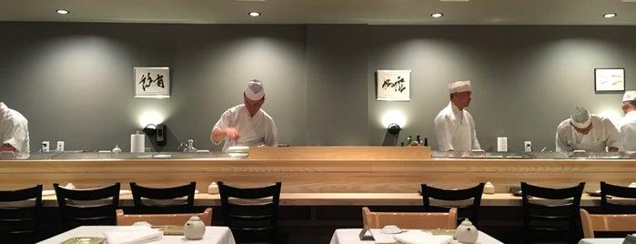 Ushiwakamaru is one of Favorite NYC restaurants.