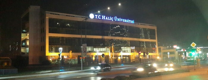 Haliç Üniversitesi is one of Nagehan : понравившиеся места.