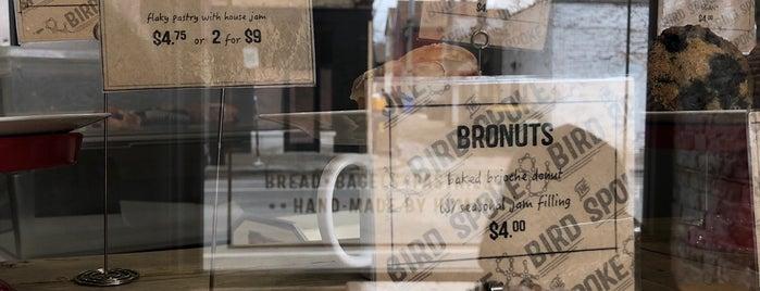 Spoke & Bird Bakehouse is one of Locais salvos de Eddy.