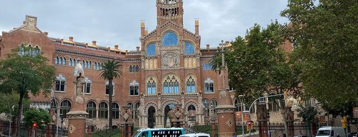 Església de l'Hospital de Sant Pau i la Santa Creu is one of Barcelona.