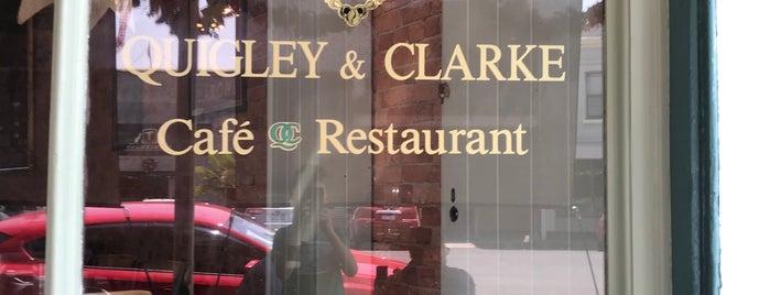 Quigley & Clarke is one of Locais curtidos por Tom.