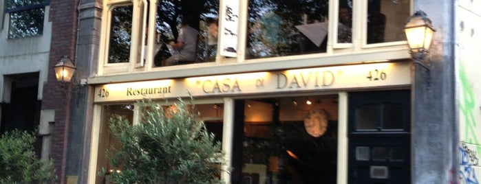 Casa di David is one of Amsterdam.