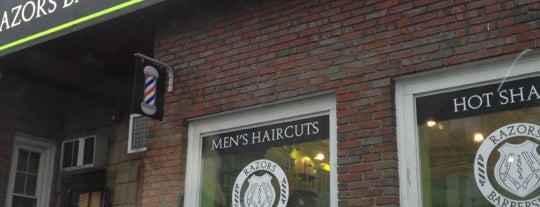 Razors Barbershop & Shave is one of Lugares favoritos de Ross.