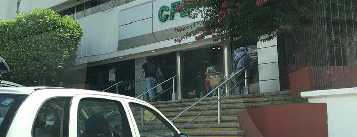 CFE Centro is one of Tempat yang Disukai Joaquin.