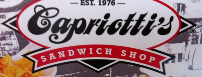 Capriotti's Sandwich Shop is one of tim'in Beğendiği Mekanlar.