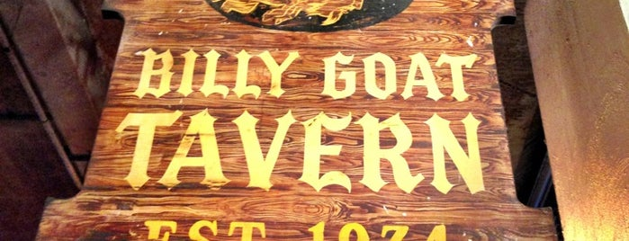 Billy Goat Tavern is one of Kate'nin Beğendiği Mekanlar.
