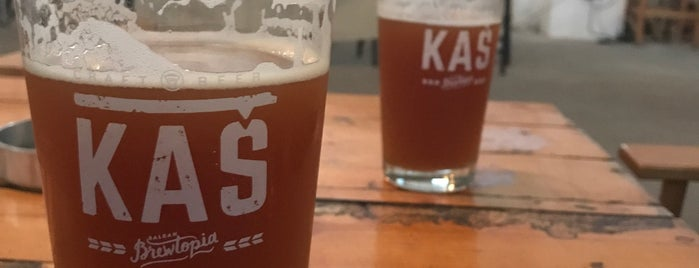 Kaš Brewery is one of Craft Beers of Serbia.