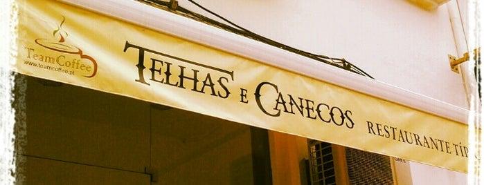 Telhas E Canecos is one of สถานที่ที่ Rodolfo ถูกใจ.