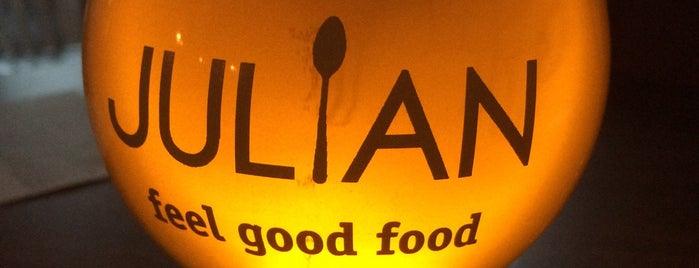 Julian is one of 2015 Restaurant Week.