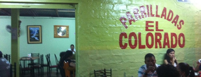 """Parriladas """"El Colorado"""" is one of Locais curtidos por Oswaldo."""