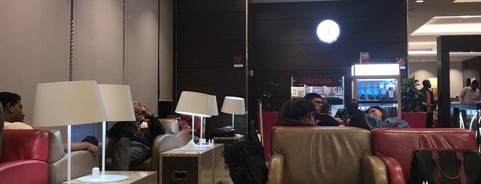 Marhaba Lounge is one of Lugares favoritos de Marcella.