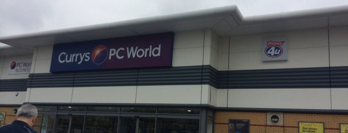 Currys PC World Featuring Carphone Warehouse is one of สถานที่ที่ Henry ถูกใจ.