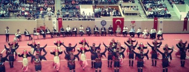 Ege Üniversitesi - Büyük Spor Salonu is one of Places.