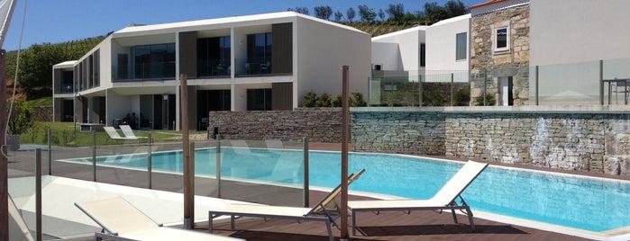Água Hotels Douro Scala is one of Tempat yang Disukai Joao.