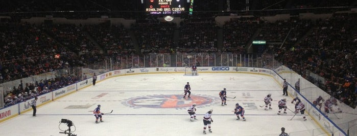 Nassau Veterans Memorial Coliseum is one of NHL Arenas 2013.