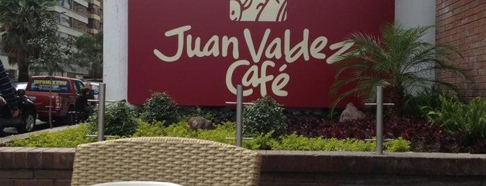 Juan Valdez Café is one of Ecuador.