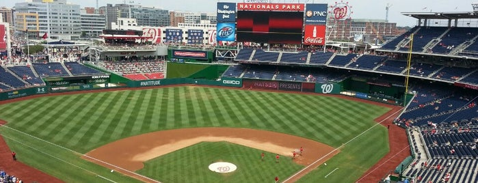 Nationals Park is one of Washington, DC Trip.